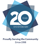 20 Year Anniversary - Proudly Serving the Community Since 1996