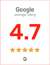 Google Average Rating