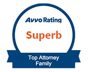 Avvo Superb Rating - Top Attorney Family Law